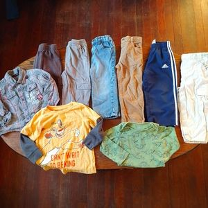 Boys bundle/Lot of tops and bottoms size 24 Months